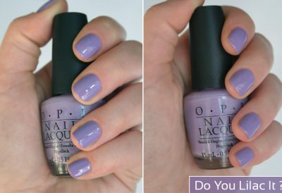 Do You Lilac It ? – OPI