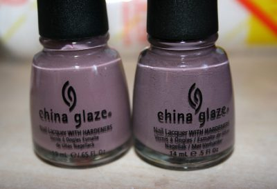 Channelesque & Bellow Deck – China Glaze