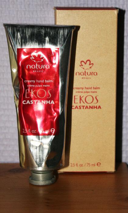 Natura Brasil - Crème pulpe mains Castanha Ekos