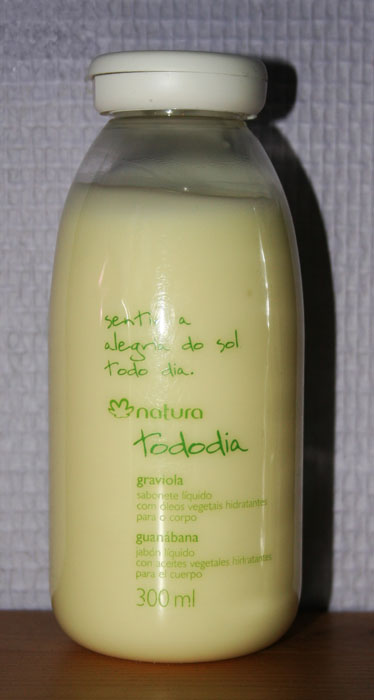 Natura Brasil - Crème de douche graviola