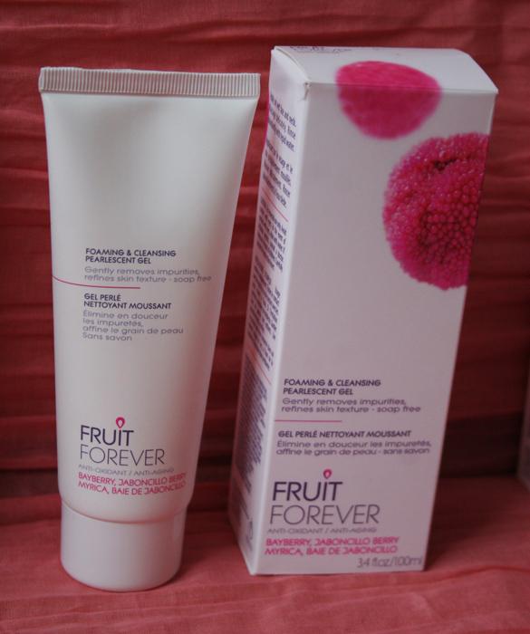 Gel perlé nettoyant moussant - Fruit Forever