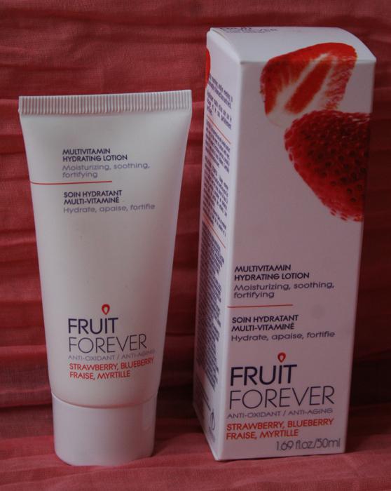 Soin hydratant multi-vitaminé - Fruit Forever