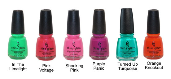 Wow Factor Collection - China Glaze