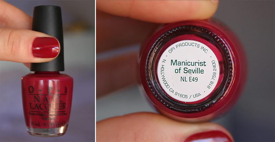 Manicurist of Seville - OPI