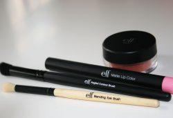 Nouveautés ELF: Pinceau HD, Matte Lip Color & Blush minéral