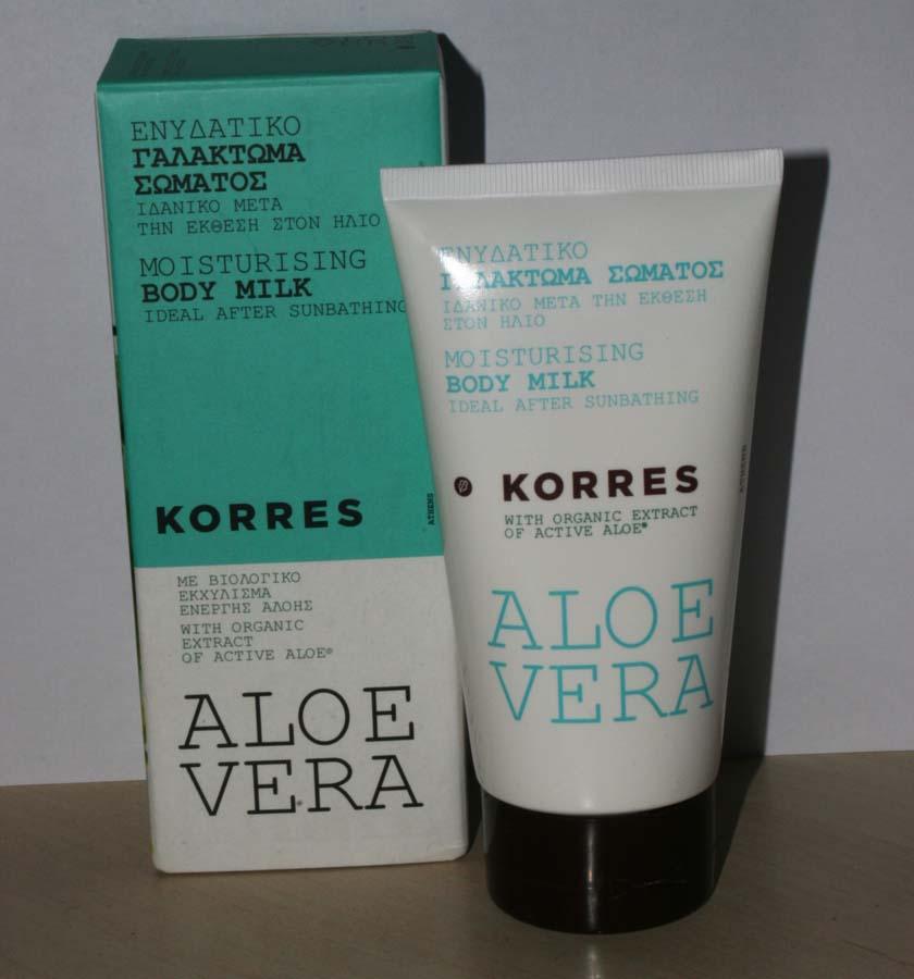 Après solaire à l'Aloe vera - Korres