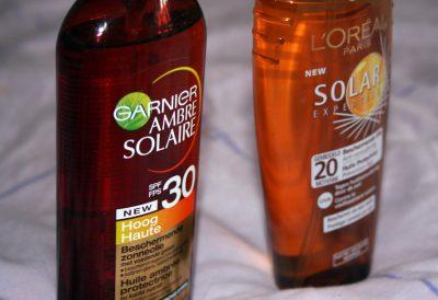 Mes huiles solaires, c'est bientôt la fin de l'été ?