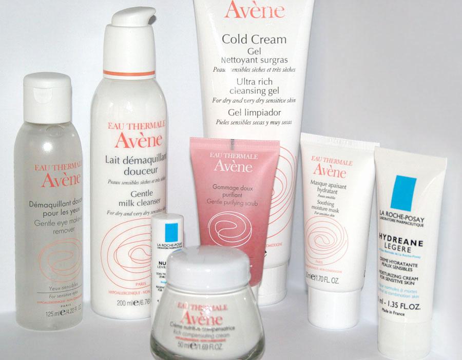 Routine soin visage  Hiver Avène & La Roche-Posay