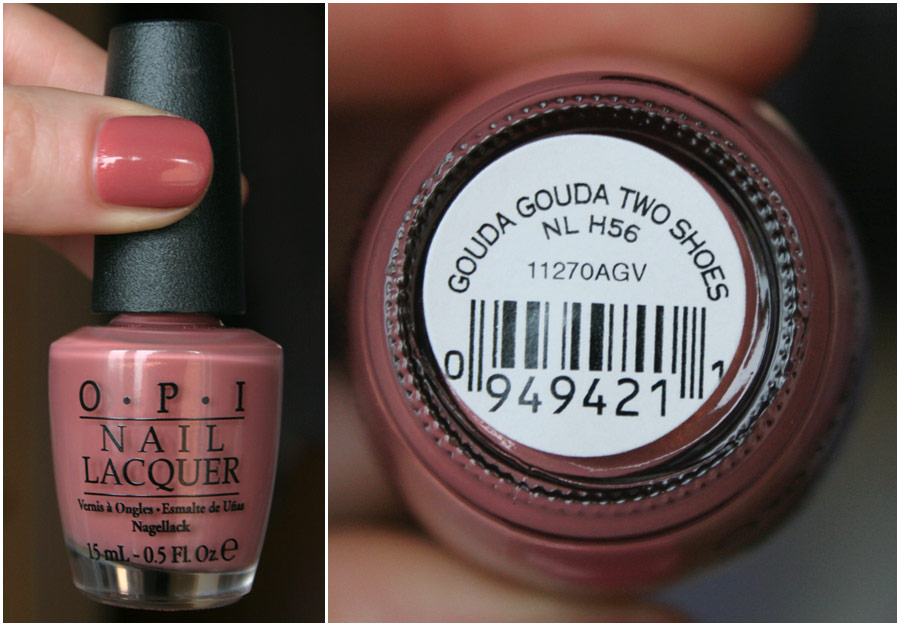 Gouda Gouda Two Shoes - OPI