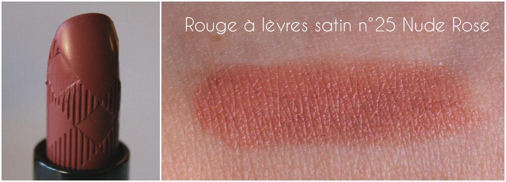 Rouge à lèvres satin n°25 Nude Rose