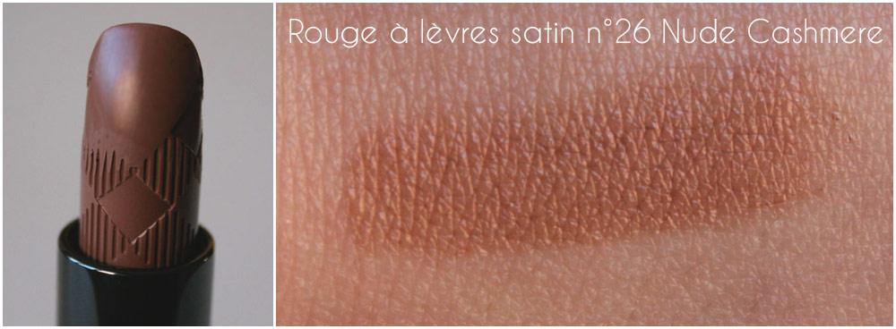 Rouge à lèvres satin n° 26 Nude Cashmere
