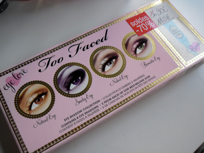 Soldes Hiver 2012 - Palette Eye Love Too Faced