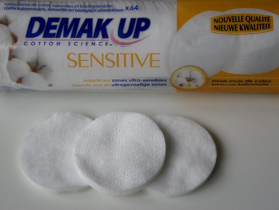 Disque démaquillant Sensitive Silk - Demak'Up