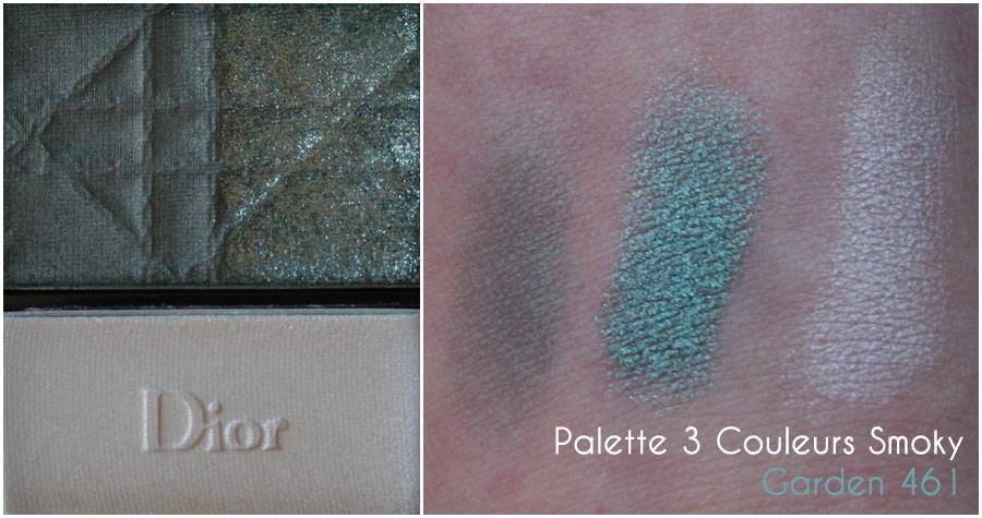 Palette 3 Couleurs Smoky Garden 461 - Dior