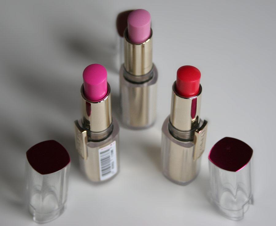 Rouges à lèvres The Caresse Issue - L'Oréal Paris