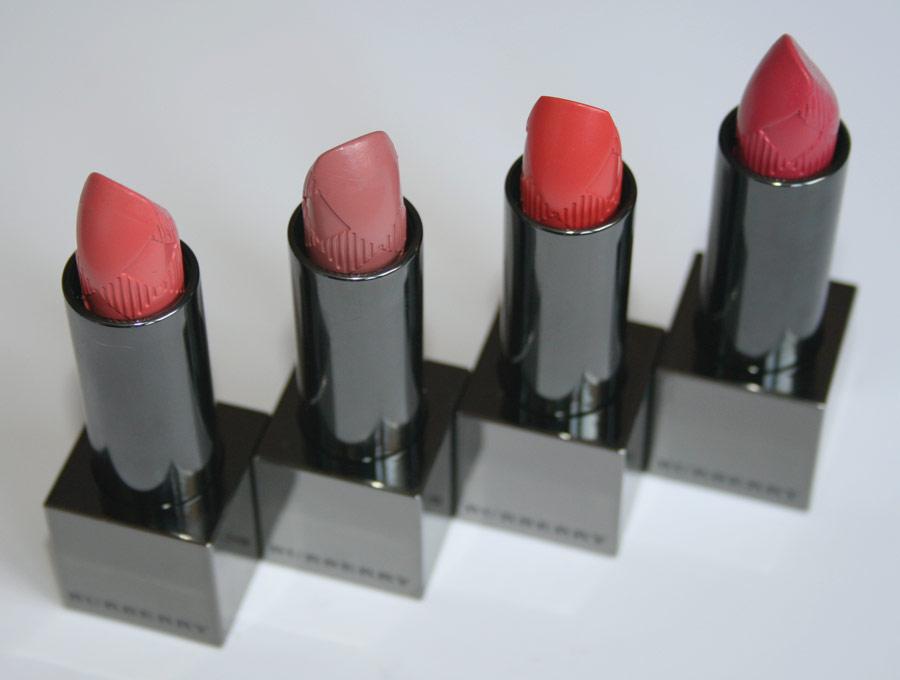 Rouges à lèvres Collection Printemps 2012 - Burberry