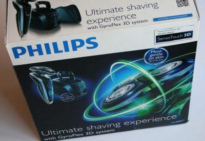 Rasoir électrique SensoTouch 3D – Philips