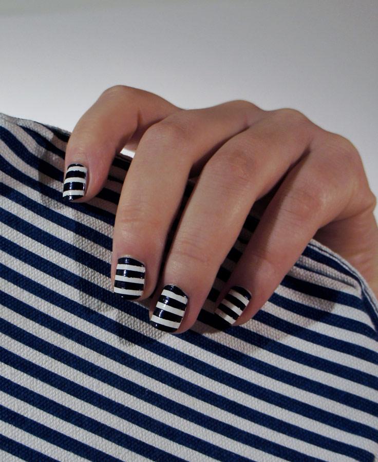 Nail art n°2 : Jean-Paul Gaultier
