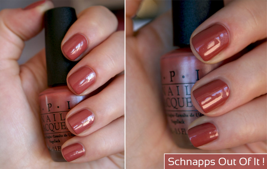 Collection Germany / Schnapps Out Of It ! - OPI