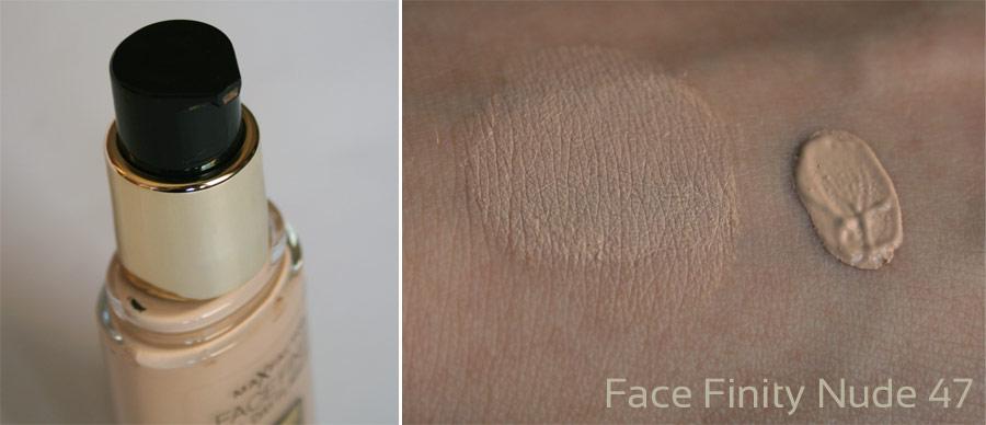 Fond de teint Face Finity [Nude 47] - Max Factor