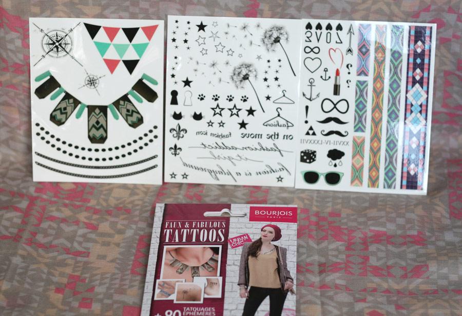 Faux & Fabulous Tattoos - Bourjois
