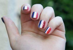 Nail Art n°3 : Flags par Emilie