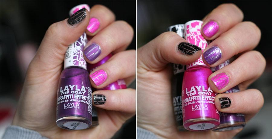 Vernis Graffiti Effect - Layla