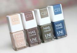 Vernis 3 en 1 Nail Colour – UNE
