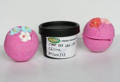 Je fabrique mes propres produits Lush !
