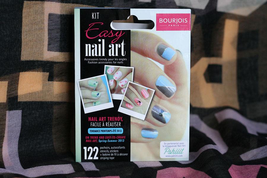 Kit Easy Nail Art - Bourjois