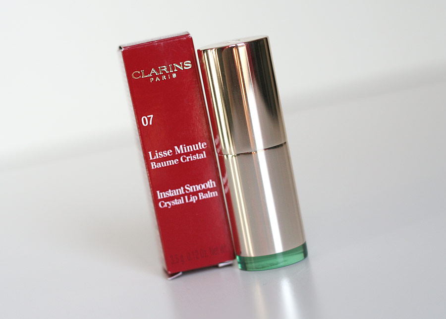 Lisse Minute Baume Cristal n°07 Crystal gold plum - Clarins