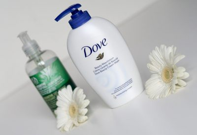 Savons pour les mains – Dove & The Body Shop