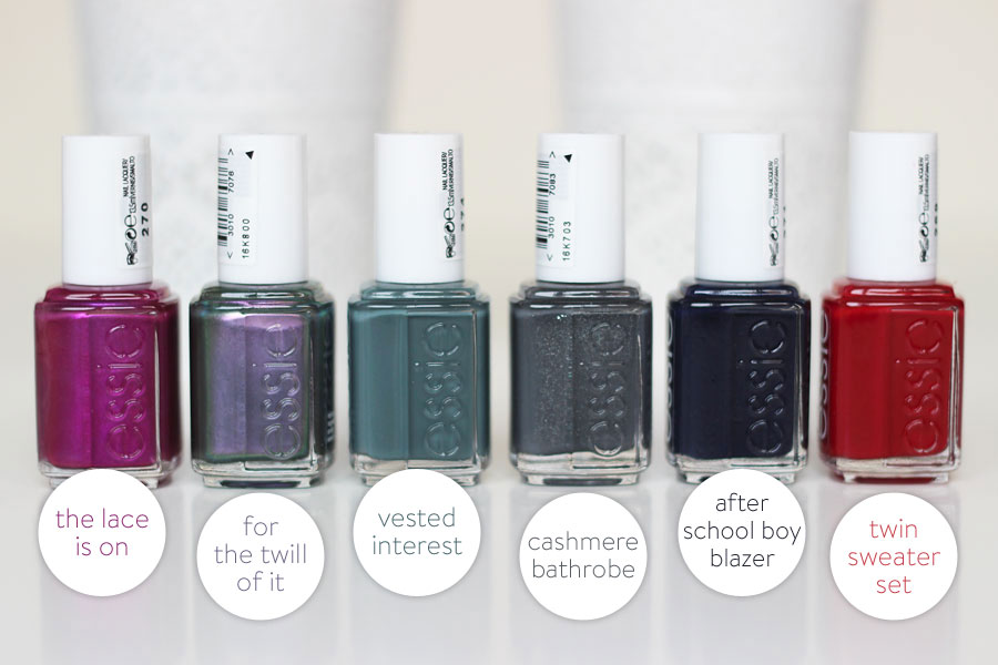 For The Twill Of It / Collection Automne 2013 - Essie