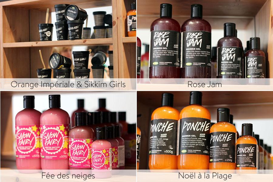 Collection Noël 2013 - Lush | Gels douche & Crèmes Corps