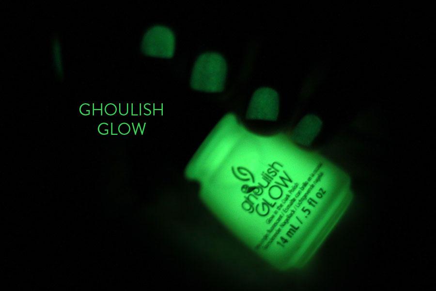 Monsters Ball - China Glaze / Ghoulish Glow