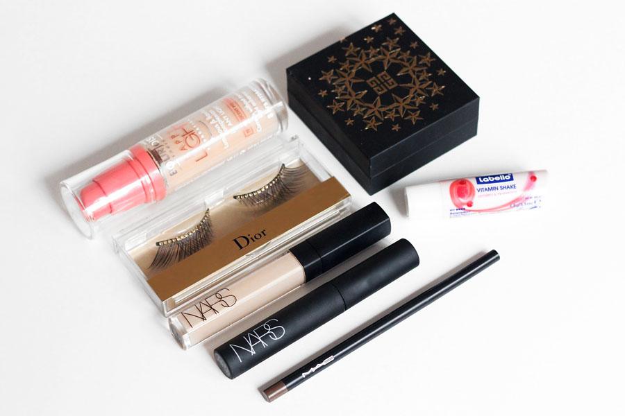Maquillage de fêtes / Produits utilisés