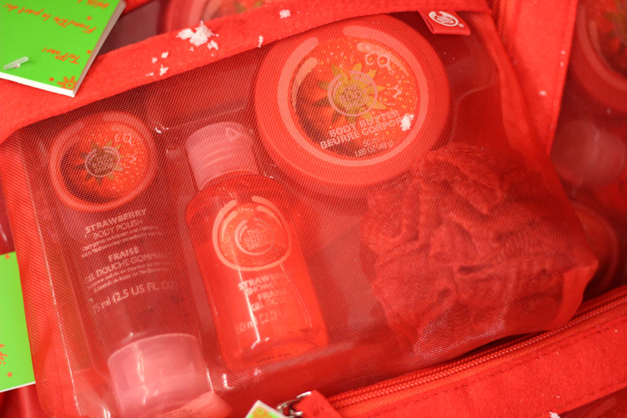 C'est noël chez The Body Shop !