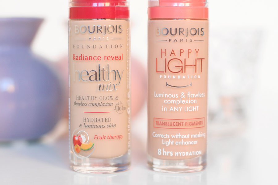 Compararif Healthy Mix & Happy Light - Bourjois