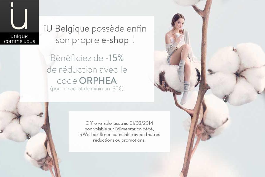 E-shop iU Belgique