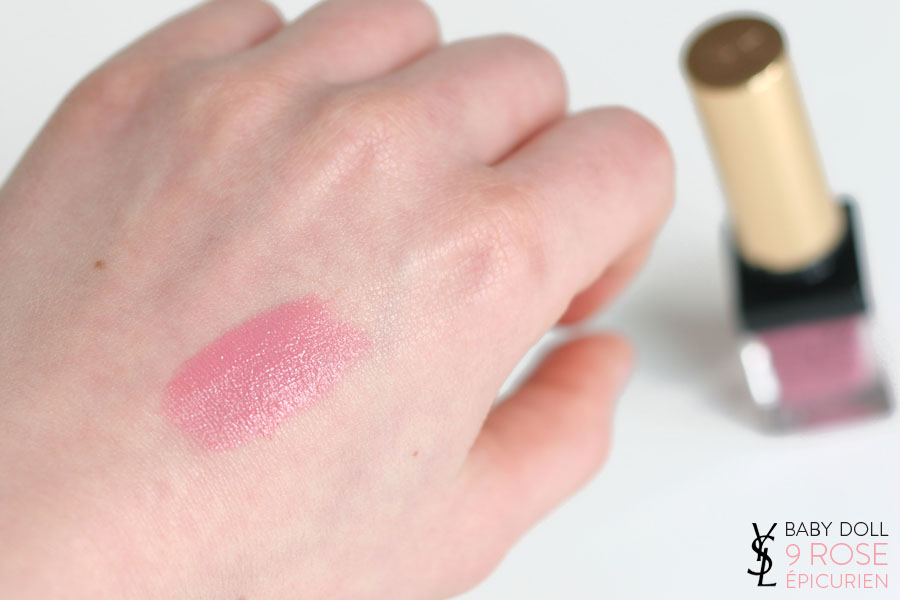 Baby Doll Kiss & Blush n°9 rose épicurien - Yves Saint Laurent