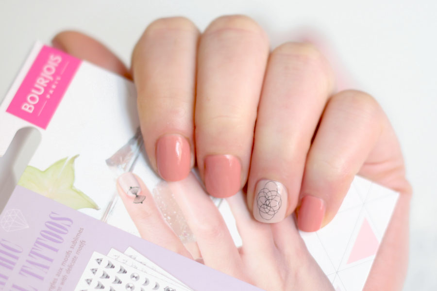Graphic Nail Tattoos - Bourjois