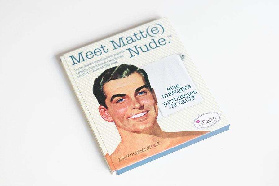 Meet Matt(e) Nude - theBalm