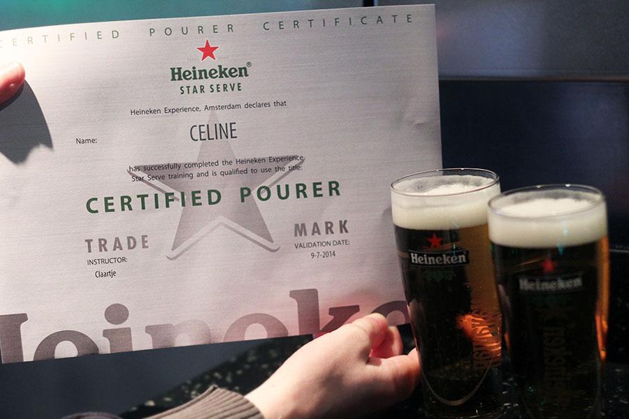 Citytrip Amsterdam / Heineken Experience