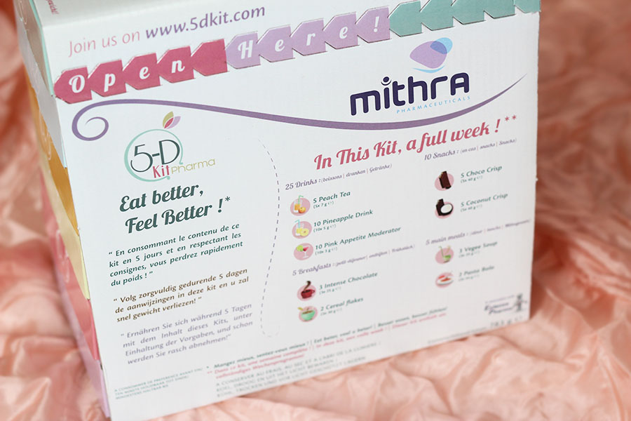 Régime Hyperprotéiné 5D Kit Pharma - Mithra