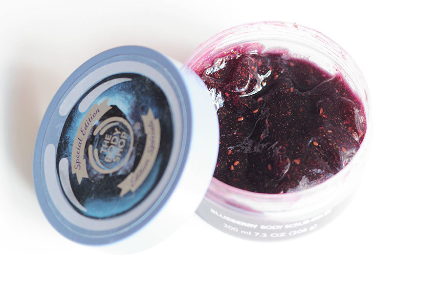 Gelée exfolliante Myrtille - The Body Shop