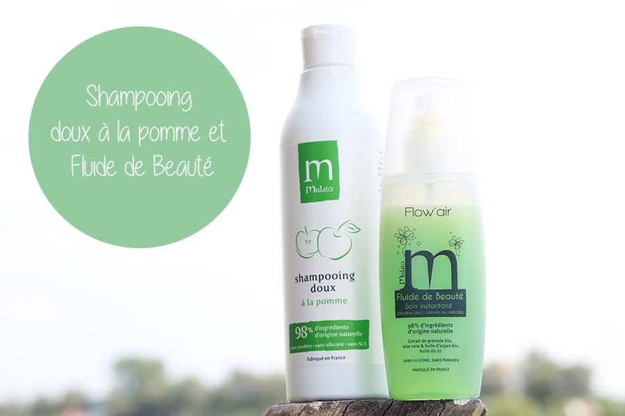 Shampooing Doux à la Pomme et Fluide Beauté - Mulato