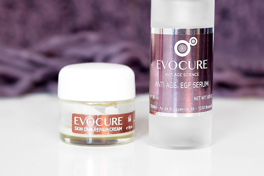 Sérum et crème nuit - Evocure