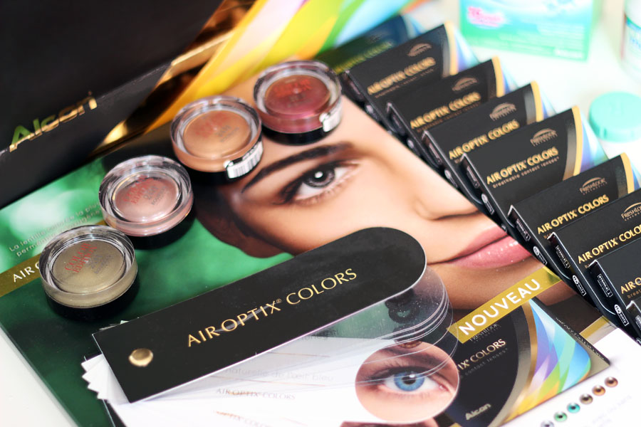 Lentilles Air Optix Colors - Alcon