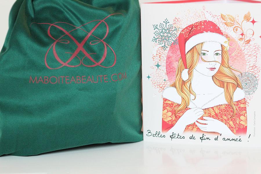 Ma boite à beauté Noël 2014