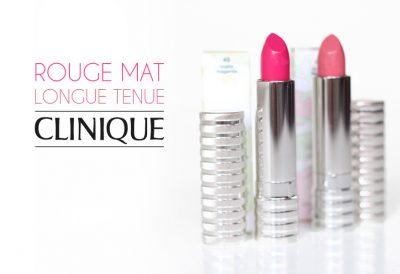 Rouge Mat Longue Tenue – Clinique